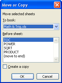 نسخ / نقل ورقة العمل Worksheet